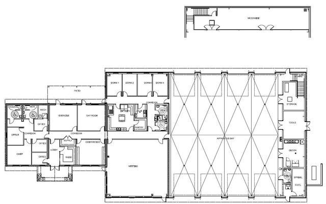 St stephens station 2 undergoes major renovation st stephens volunteer fire department for Fire station floor plans design
