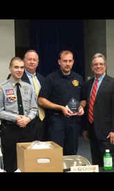 2014 Piedmont Council Fire/Rescue Explorer Advisor of the year!