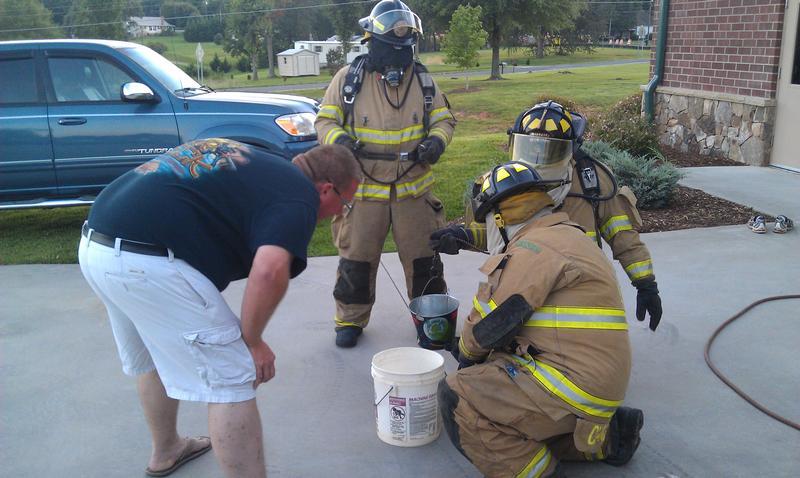 Toxic liquid drill