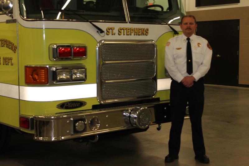 Fire Chief Shawn Greene