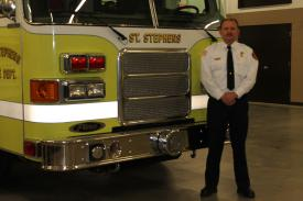 Fire Chief Shawn Greene